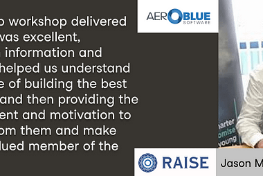 Raise Ventures Accelerator review with Jason McDevitt, startup founder at Aeroblue Software