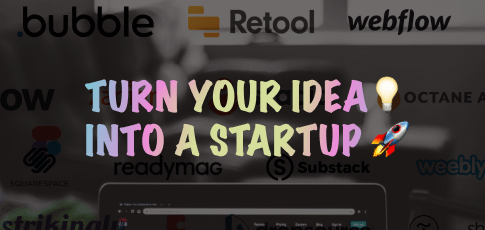 turn your idea into a startup