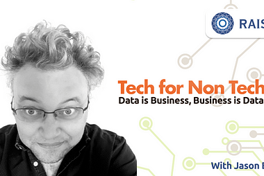Startups and Data with Jason Bell.